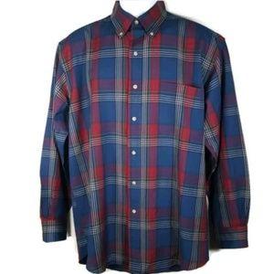 Sir Pendleton Plaid Button Down Shirt Medium